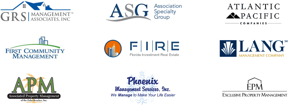 GRS Management Associates, ASG, Atlantic Pacific, First Community Management, FIRE, LANG